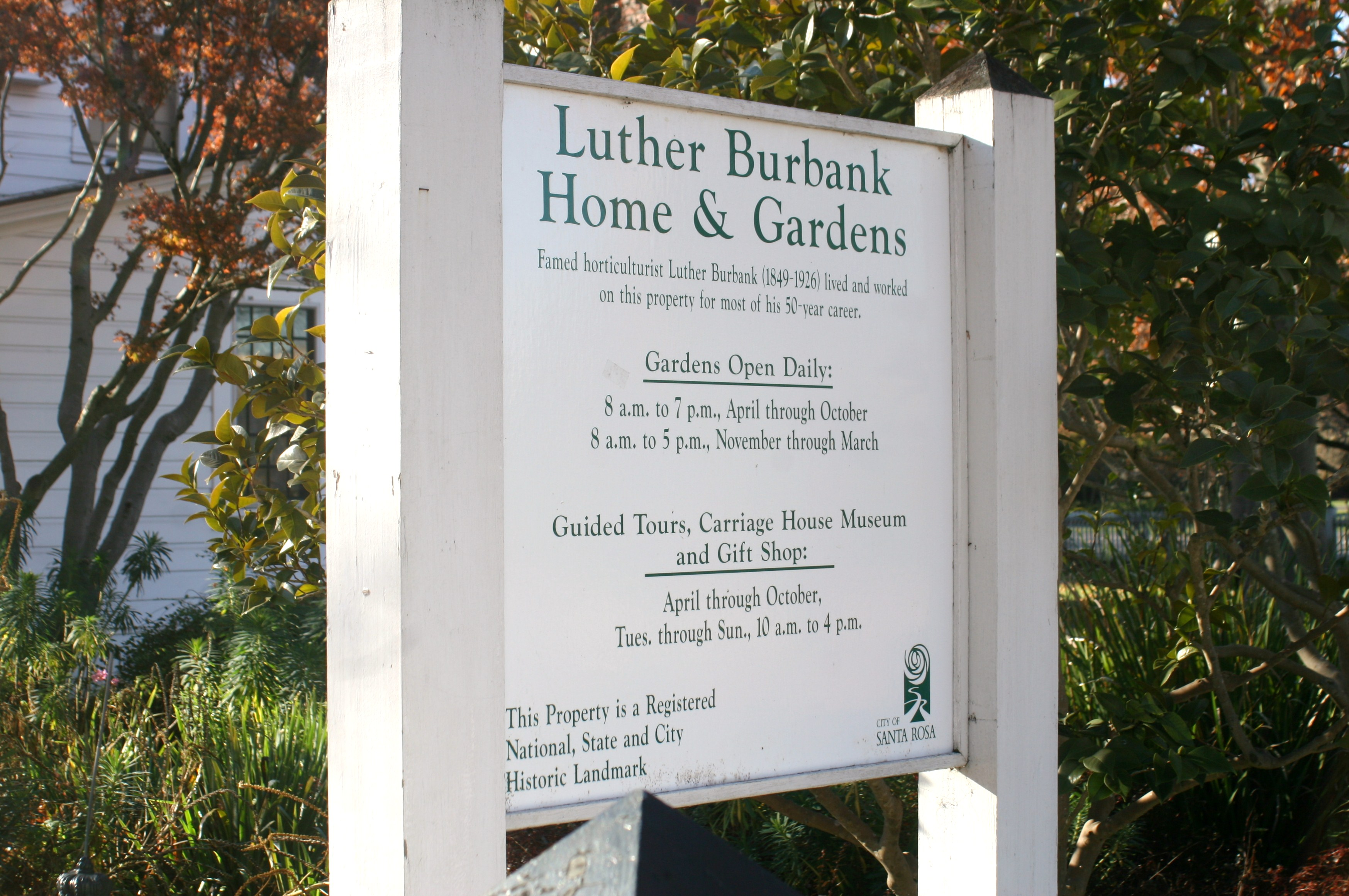 Luther Burbank Home Gardens Polyface Hen House
