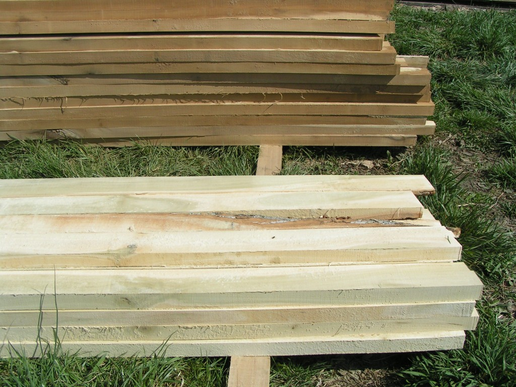 wood from sawmill